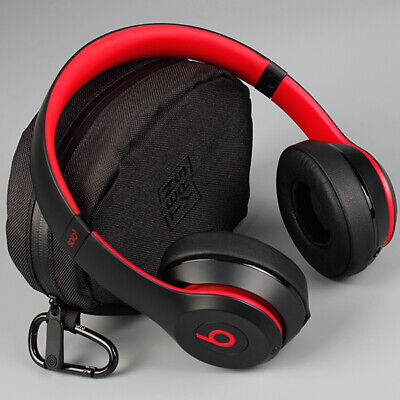 Beats Solo3 Wireless On-Ear Headphones Decade Defiant Black-Red *REFURBISHED*