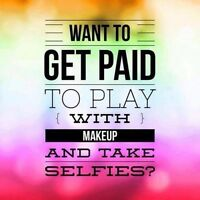 Talk about beauty products and earn money