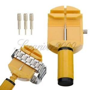 NEW-Watch-Band-Strap-Bracelet-Spring-Link-Pin-Adjuster-Remover-Repair-Tools-Kit