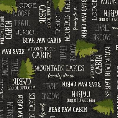 Moose Trail Lodge - FABRIC QT ~ MOOSE TRAIL LODGE ~ Audrey Jean Roberts (26685 J) by the 1/2 yard