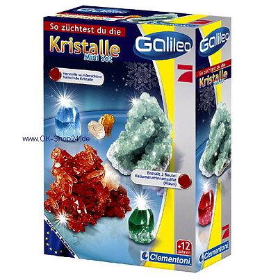Clementoni Galileo Kristalle selbst züchten Mini Set 69936 Experimentierset NEU