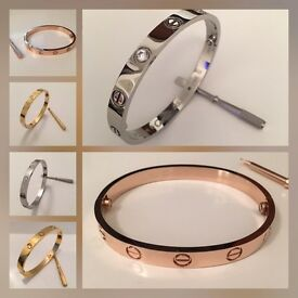 Cartier Love Bracelets In Various Colours & Sizes PLEASE SEE PICTURES
