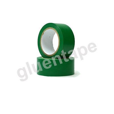Vinyl Floor Safety Marking Tape, 2 inch x 36 yards, 5Mil, PVC, GREEN (1 Roll)