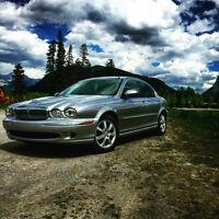 2004 Jaguar X-TYPE AWD 2.5 WITH LOW KM'S!!