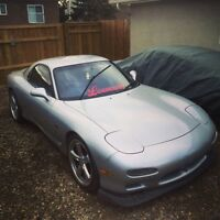 1992 Mazda rx7 rolling shell