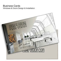 1000 Hi-Gloss UV Coated 14pt Business Cards for $18.98