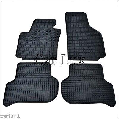 Alfombrillas alfombras de goma VW Golf 5 V a medida y talonera...