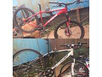 Joblot spare repair bikes mtbs enduro downhill