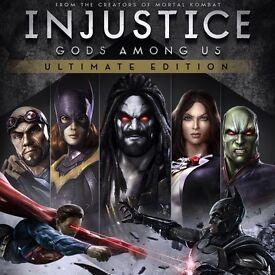 Injustice ultimate edition ! Quick sale