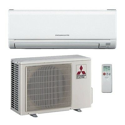 24,000 Btu 20.5 Seer Mitsubishi Single Zone Mini Split Air Conditioning System