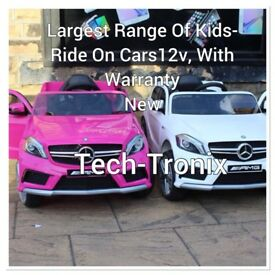 Mercedes A45, Parental Remote & Self Drive White & Pink Ride-On