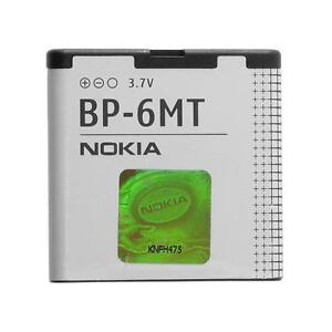 New OEM Nokia BP-6MT Battery For E51 N81 N82 6350 Mural 6750 1050mAh Replacement