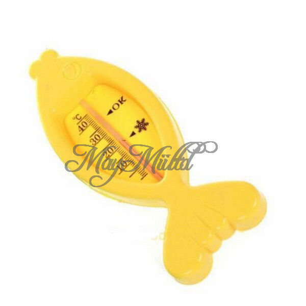 Floating Fish Lovely Plastic Float Toy Baby Bath Tub Water Sensor Thermometer H
