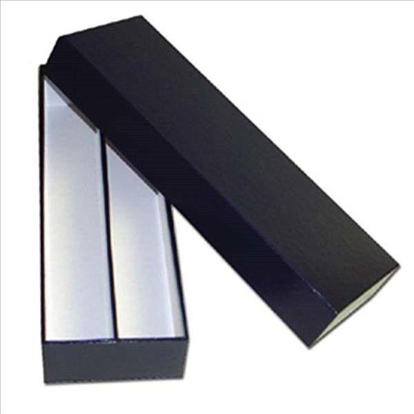"""10 Black Coin Storage Boxes-Single Row 9/""""x2/""""x2/"""" for 2x2s U-DO-ITS Flips Mylar"""