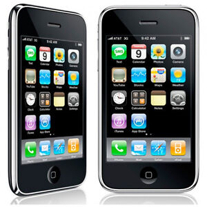 U Apple iPhone 3GS - 8GB - Black (FACTORY UNLOCKED) Smartphone (C)