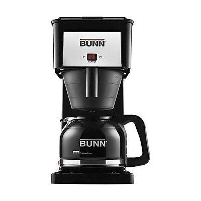 BUNN GRX-B GRXB 10 Cup Velocity Contrive Coffee Maker Black Brewer