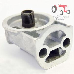 Massey ferguson oil filter head spin on filter mf35 65 135 165 240 ebay - Massey ferguson head office ...