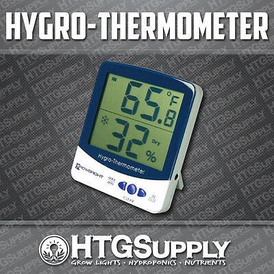 THERMOMETER HUMIDITY Meter Hygrometer REMOTE SENSOR Hydroponics Temperature TEMP