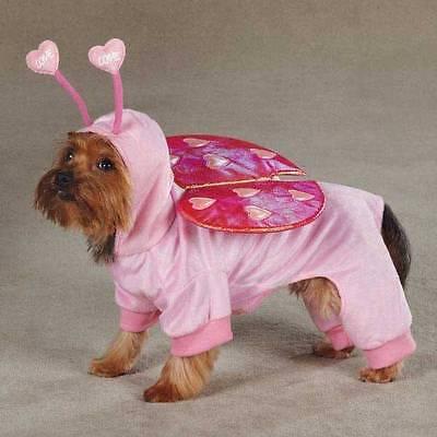 Love Bug Kostüm für Hunde - Extraklein Pink Valentinstag Urlaub - Urlaub Kostüm Für Hunde