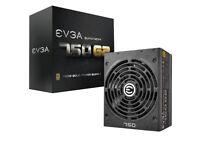 EVGA SuperNOVA 750 G2, 80+ GOLD 750W, Fully Modular, EVGA ECO Mode, 10 Year Warranty,