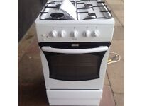 £75 AMICA 12 MONTHS OLD GAS COOKER WITH GAS PIPE