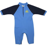 Royal blue, yellow NoZone sunsuit for 6 to 12 months