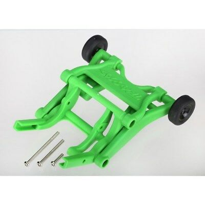- Traxxas 3678A Green Wheelie Bar Assembly for Slash Stampede Rustler Bandit