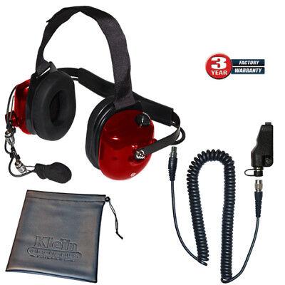 Klein Titan Extreme Noise Red Boom Mic for Kenwood TK and NexEdge Two-Way Radios for sale  Las Vegas