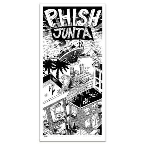 Jim Pollock Junta Phish Album Poster Art Print S/N LE Silkscreen xxxx/1989