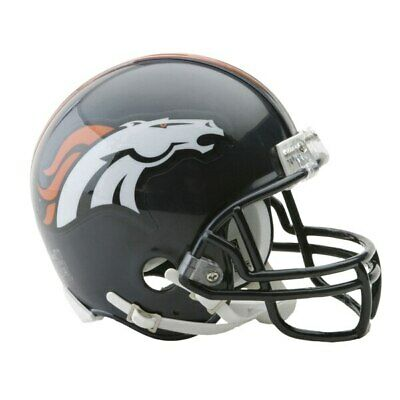 ini Helm VSR4 Riddell Football Helmet OVP Footballhelm (Broncos Helm)