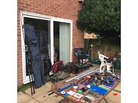 Course and Carp fishing gear - job lot