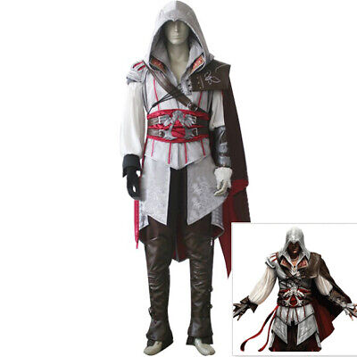 Assassin creed costume assassins creed cosplay ezio connor men halloween clothes](Assassins Creed Halloween Costume)