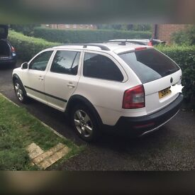 Excellent condition 2010 Skoda Octavia Scout