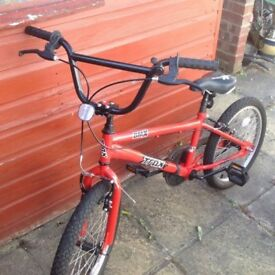 Red bmx bike for sale