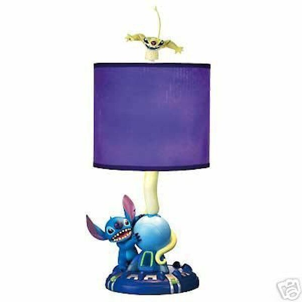 RARE Disney Lilo and Stitch Experiment 626 Cousin Sparky Lamp Retired NIB