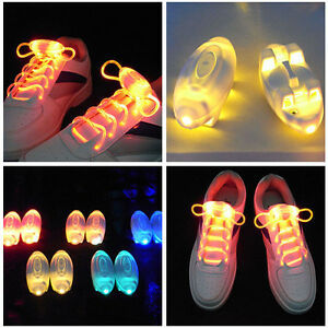 1-Pair-Party-Clubwear-Shoe-Lace-Lights-Light-Up-LED-Flash-Glow-In-The-Dark-Night