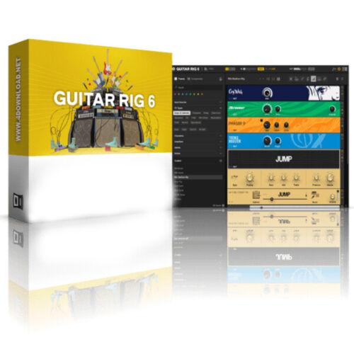 Guitar Rig 6 Pro 6.0.2 STANDALONE. VST. AAX x64 Win 2020