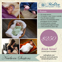 Newborn Sessions (in your home) - custom disc/printing rights