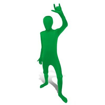 Green Morphsuit Spandex Costume Size Boys Kids Girls Medium, Ages 8-10](Girls Morphsuits)