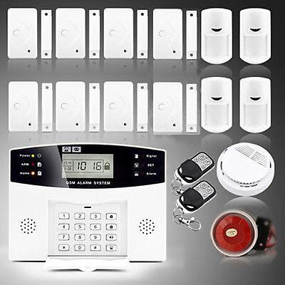 108 Zones Wired Wireless GSM Tellingly Burglar Security Fire Alarm System Auto Dialer