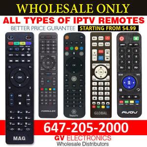 IPTV Remote Control - MAG-BUZZTV-DREAMLINK- AVOV-GLOBAL
