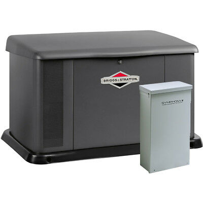Briggs Stratton 20kw Standby Generator System 150a Service Disconnect Ac...