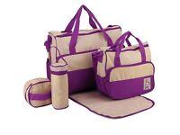 Baby changing bag set (new)