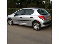 December 2010 Peugeot 207 diesel (not golf) cheap tax