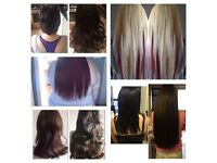 Bonded or micro-ring hair extensions