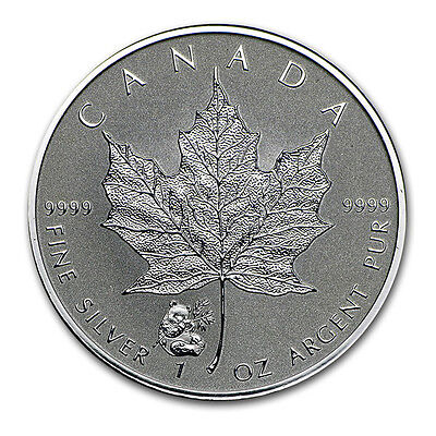 1 oz Silber 5 Dollar Kanada Maple Leaf Privy Mark Panda 2016 Frosted Proof ()