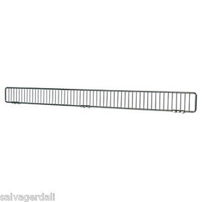 """Gondola Shelving Fronts Fence 3""""H X 48""""L  Lozier Madix Wire Fencing Lot of 25"""