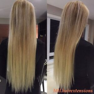 POSE D'EXTENSIONS DE CHEVEUX/HAIR EXTENSIONS West Island Greater Montréal image 2