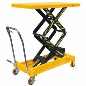 portable lift table, manual lift pallet jack, hand jack, high li