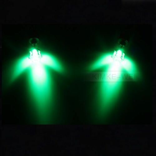 Color Led Earrings Light Up Glowing Studs Ear Ring Drop: 1 Pair Green Color Light Up Led Earrings New
